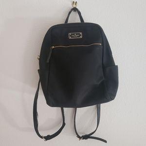 USED Kate Spade Small Mini Black Backpack
